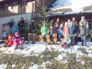 Winterlicher Ausflug zur kleinen Eule