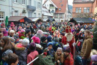 Herrlicher Wintertag und buntes Marktprogramm