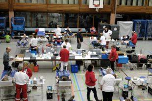 182 Blutspender waren gekommen