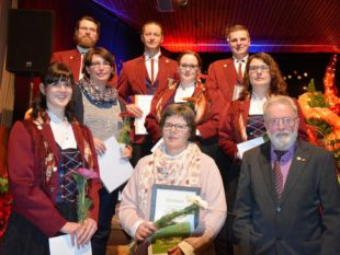Gisela Volk zum Ehrenmitglied ernannt