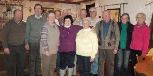 Jahresabschluss führte die Seniorenwandergruppe ins »Rössle«