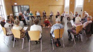 Besinnlicher Advent bei Altennachmittag und Gymnastikgruppe
