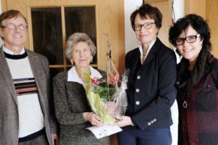 Mina Mellage feierte am Freitag ihren 95. Geburtstag