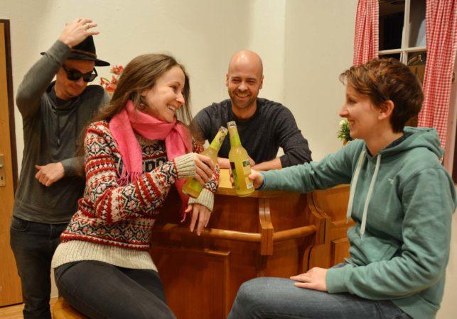 Jahresveranstaltung Bürgerwehr mit Theatergruppe Lampenfieber