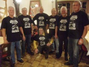 Unterentersbacher Vespa-Rollerclub war im Jahr 2017 unfallfrei auf Tour