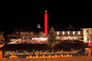 Vier stimmungsvolle Weihnachtsmärkte im Kerzendorf Biberach
