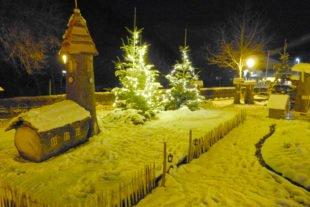 Das Hademar Adventsdorf Oberharmersbach begeistert mit einer neuen Idee