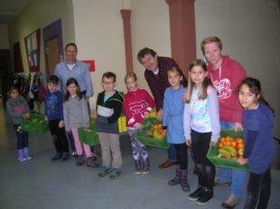 Früchte machen fit für die Schule