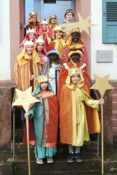Sternsinger brachten Segen in die Prinzbacher Häuser