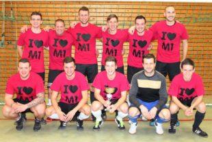 »Gieringer & Co« gewann beim 15. Fußball-Hallenturnier