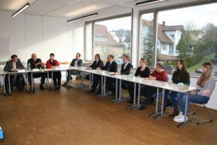 CDU-Parlamentarier besuchten Zeller Bildungszentrum