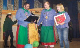 Ute Ringwald für 33-jährige Treue zu den Reiherhexen geehrt