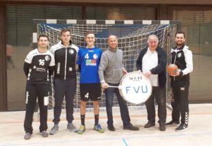 Eine Trommel für die FVU-Handballer