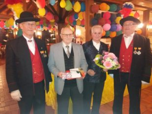 Fridolin Huber feierte 85. Geburtstag