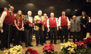 Langjährige Chormitglieder wurden vorgestellt