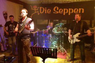 »Die Seppen« sorgten für beste Konzertatmosphäre im »Töpfer«
