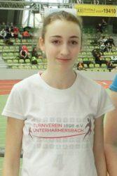 Sprinterin Anne Kling in bestechender Form
