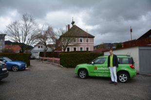 Apotheke am Kurgarten ist trotz L94-Baustelle gut erreichbar