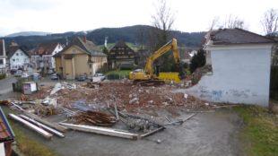 Das Musikschulgebäude ist aus dem Stadtbild verschwunden