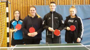 Erfolgreiches Turnier für die Tischtennis-Jugend der DJK