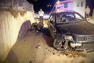 Schwerer Verkehrsunfall im Hinterhambachtal