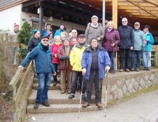 Februar-Wanderung der Senioren bei Durbach kam bestens an