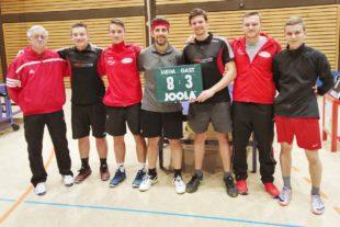 Herrenmannschaft gewinnt gegen den Tabellenführer aus Oberkirch