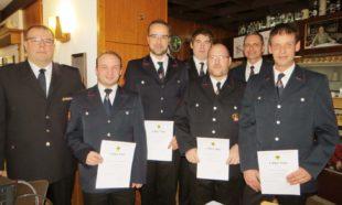 93 Einsätze für die Feuerwehr