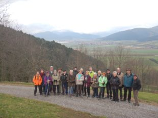 Mit Wanderung nach Niederbach in die Saison 2018 gestartet