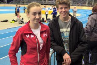 Anne Kling und Tim Lehmann weiterhin auf Erfolgskurs