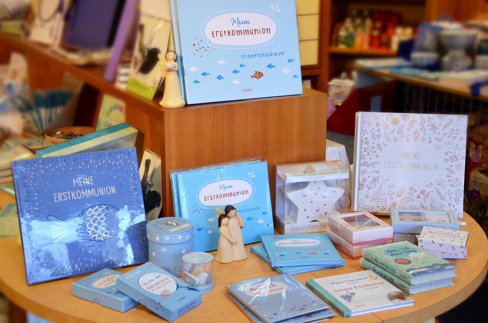 Schöne Geschenke Und Karten Zur Kommunion In Großer Auswahl