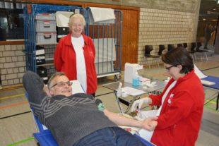 209 Blutspender trotz Grippewelle