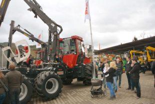 Landtechnik Ritter lädt ein zur traditionellen Frühjahrsausstellung