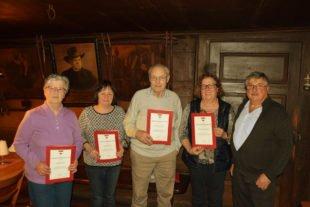 Karl Oehler ist neuer Vorsitzender des Schwarzwaldvereins Nordrach