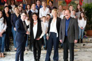 Karin Alst wurde ins Amt der Schulleiterin eingeführt