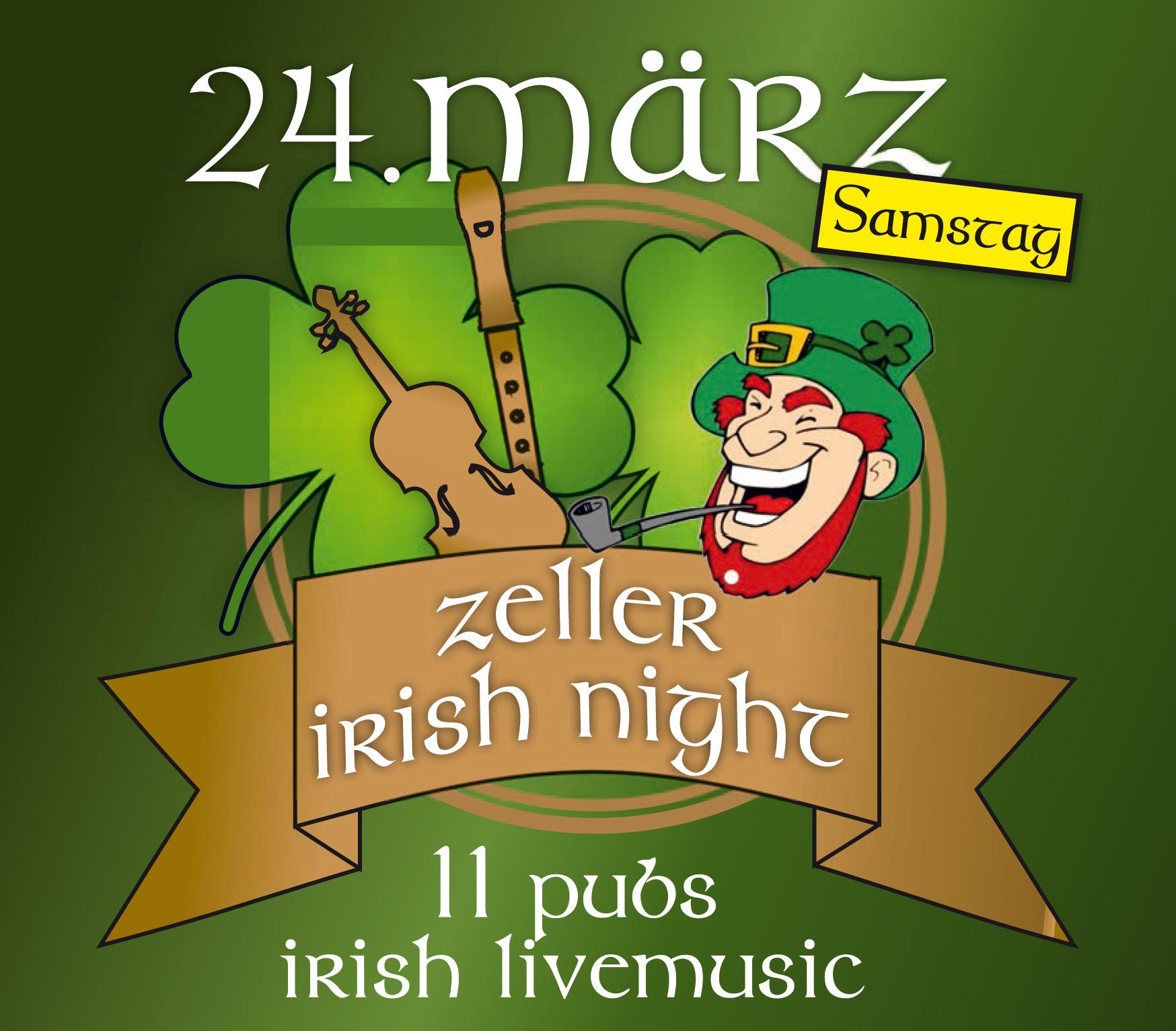 Am Samstag ist »Irish Night« in Zell a. H. | Schwarzwälder Post