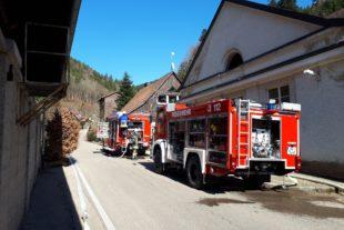 Feuerwehr probt bei Frühjahrshauptübung Rettungseinsatz in der Klausenbachklinik
