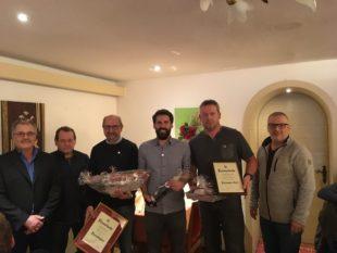 Ludwig Brucher wurde zum SVO-Ehrenmitglied ernannt