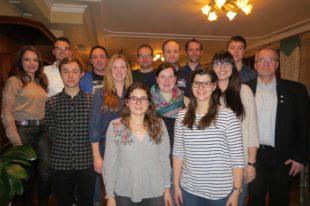 Im DLRG-Vorstandsteam engagieren sich viele junge Menschen