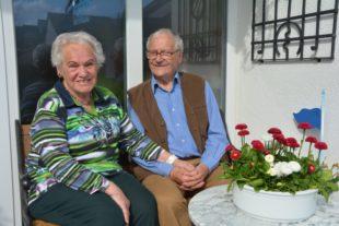Marianne und Ernst Stehle feiern das Fest der diamantenen Hochzeit