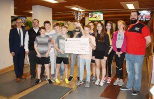 »Gut Holz« für neun Teams vom Bildungszentrum »Ritter von Buß«