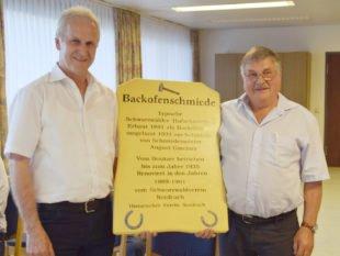 Thomas Laifer übernimmt den stellvertretenden Vorsitz des Historischen Vereins Nordrach
