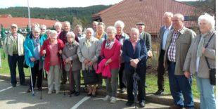 Oberharmersbacher Senioren auf kleiner Schwarzwaldrundfahrt