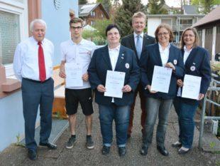 Mitgliederwerbung für den DRK-Ortsverein Zell wurde großer Erfolg