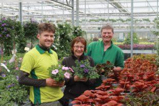 Blütenfest im Gartencenter »Göppert« am 1. Mai