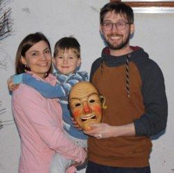 Nachwuchsnarr Jakob Walter gewinnt Bändelemaske