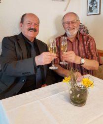 Günter Lehmann feierte mit 100 Gästen seinen 80. Geburtstag