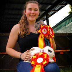 Drei Treppchen-Plätze für Jacqueline Herold und ihre Kaninchen