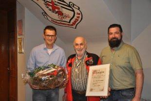 Sportkegler ernennen Franz Schultheiß und Erhard Eble zu Ehrenmitgliedern