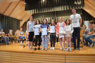 Fünf Musikerinnen haben sich die  Junior-Auszeichnung verdient